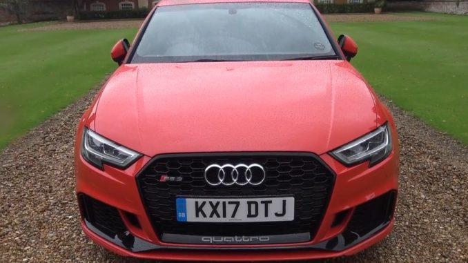 2017 Audi RS3 Saloon