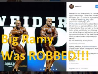 big ramy 2017 uncrowned